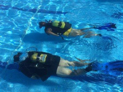 卡塞雷斯的潜水洗礼