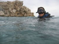 潜水洗礼+沉浸在水库,卡塞雷斯