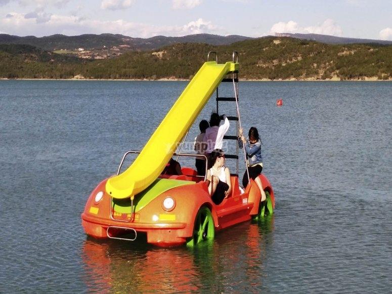 Alquiler hidropedal Barasona