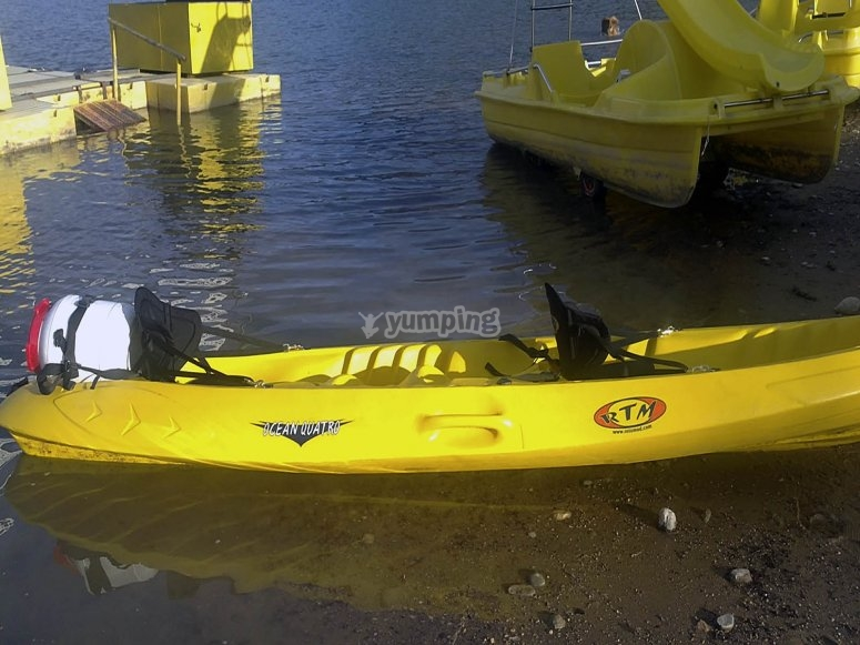 Piragua/kayak doble
