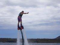前倾寻找平衡Flyboard
