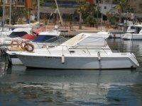 Boat in the Port of Mazarrón