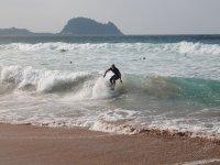 Surfing in Somo