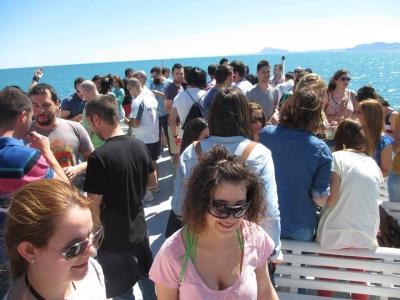 Party Boat en Gandía sábado mañana