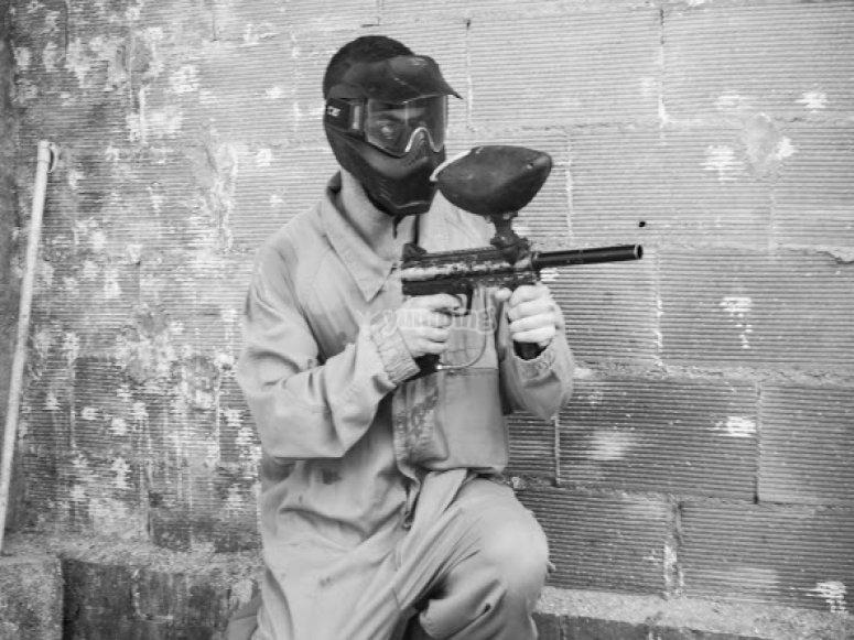 Pistolas de paintball
