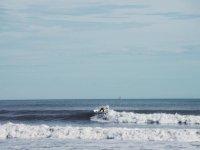 Olas en el mediterráneo surf