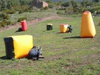 Jugar al paintball en Lleida