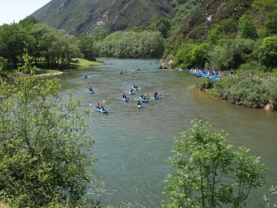 Sella river descent by canoe +12 years old