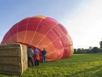 热气球在莱里达