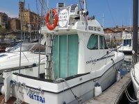 Barco Getari en el puerto
