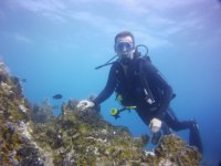 体验水肺潜水,兰萨罗特