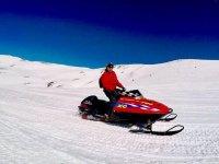 Motoslitta a grande cilindrata nei Pirenei