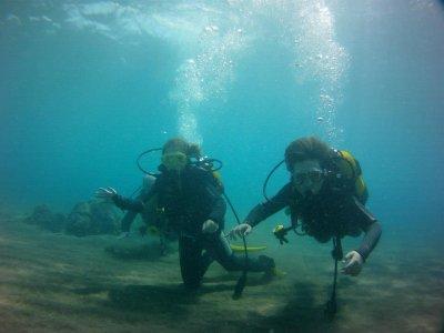 Curso de buceo Open Water Diver, Tías, Lanzarote
