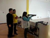 Practicando tiro