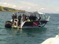 Buceo Navarra, barco