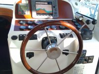 Timon e instrumentos de navegacion