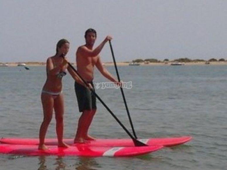 punta umbria paddle