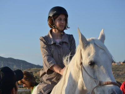 90min Horse Ride Tour + Riding Lesson + Photos