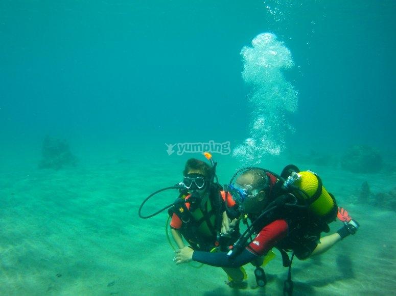 兰萨罗特潜水长潜水