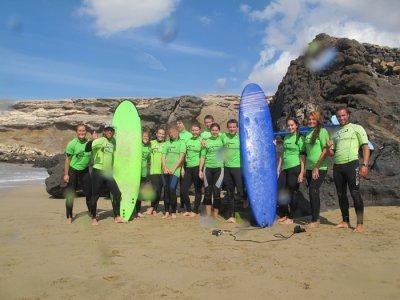 Curso de surf 4 días en Fuerteventura