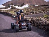 Haciendo turismo en quad