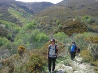 Walking in the Galician mountains