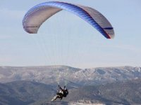 Two-seater paraglider