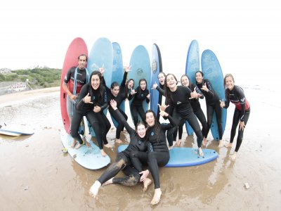 Surf Camp For Kids/Teens, Sopelana, 8 Days