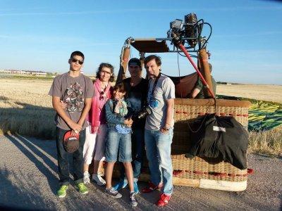 Paseo en globo en Aranjuez fotos y vídeo HD niños