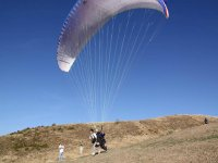 Paragliding flight in Granada