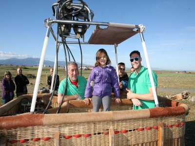 Balloon Flight Segovia Brunch + Photos+ Video Kids