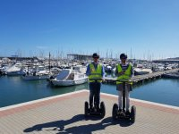 On the promenade with the segway