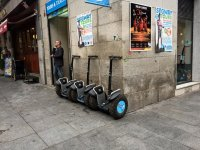 Segway parked