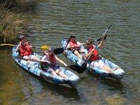 Manejarán las canoas como auténticos profesionales