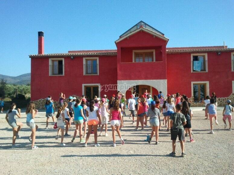 Campamento de verano en Onil