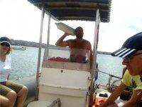 Salida con embarcacion