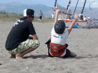 Curso - bautismo de kitesurf, en Torremolinos