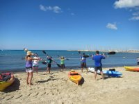 curso de iniciación al kayak
