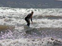 Pasando sobre las olas