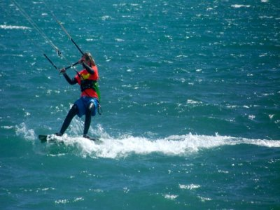 Kiteboarding baptism, 8 hours (2 days)