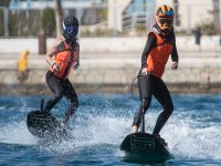 Jet surf race in Alicante