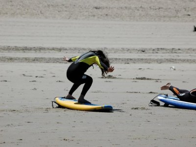 10-day surfing course in Salinas, 2hours a day