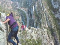 漂流,峡谷漂流和通过ferrata,Esera河