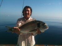 Pesca en barco para grupos 2 horas en Puerto Banús