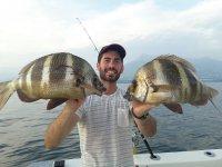 Pesca en barco para familia o amigos 4 horas