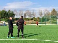 Campamento de futbol en Moratalaz