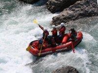 Descenso de rafting, río Esera, 8 km, 1 h 30 min