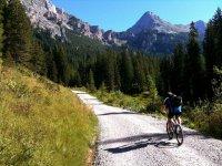 Excursión en bici de montaña