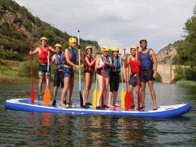 在Buendía大桨冲浪2小时。