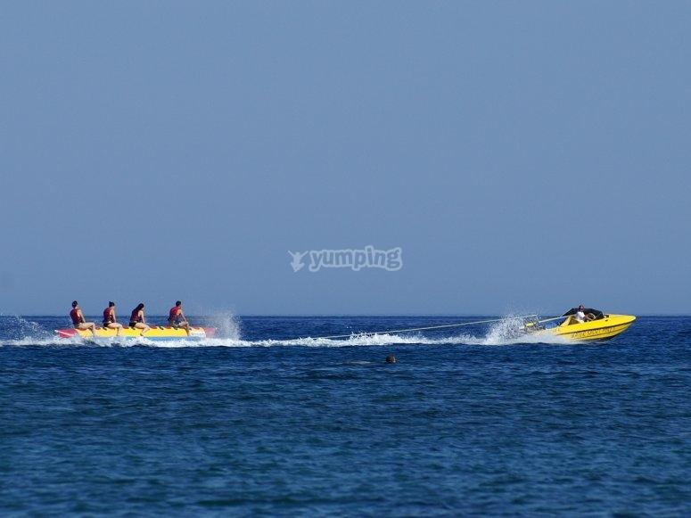 Banana boat Barcelona 3